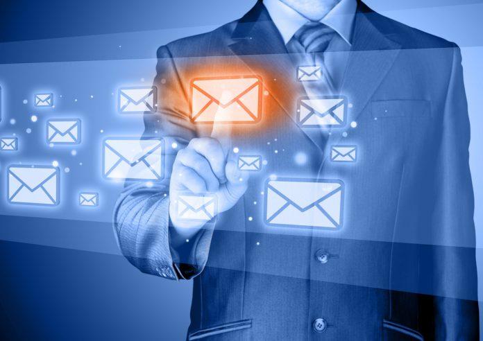 Businessman email