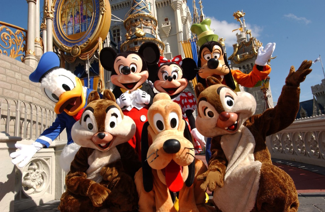 Disney-World-Characters