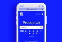 Presearch Google