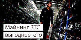 Майнинг BTC