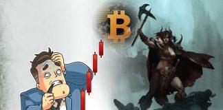USD и BTC падают вместе