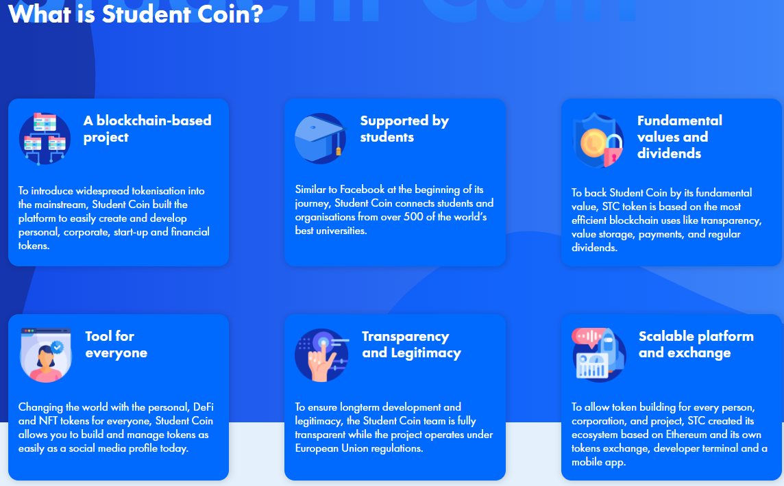 ICO Student Coin (STC)