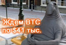 BTC по $41 000
