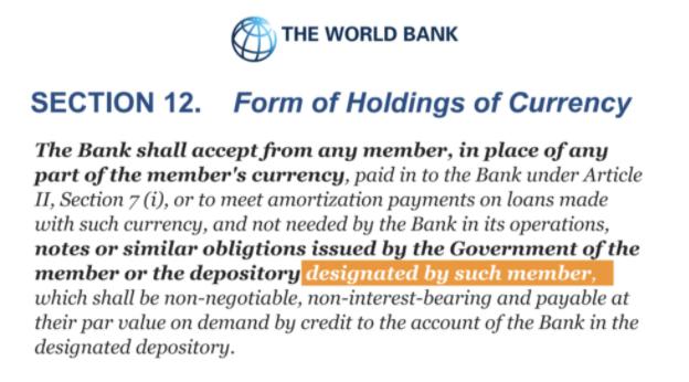 Мировой банк и отговорки