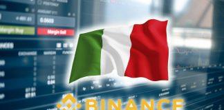 Италия запрещает деятельность Binance