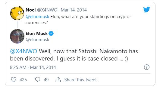 Илон Маск покупает ETH